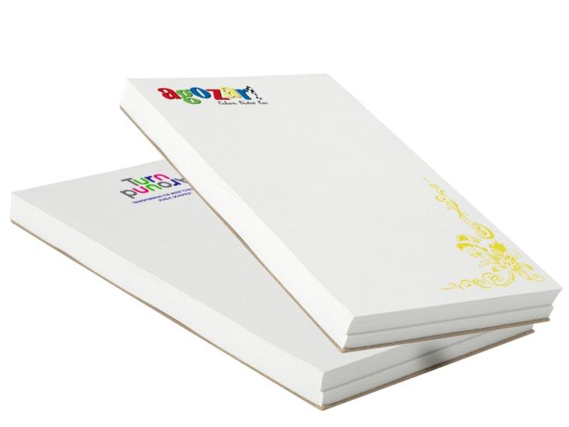 Custom Print Notepad